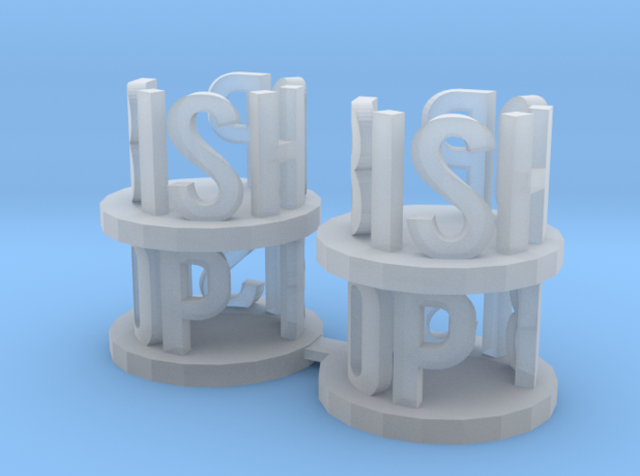Alpha Bishops 3d printed this is a render not a picture