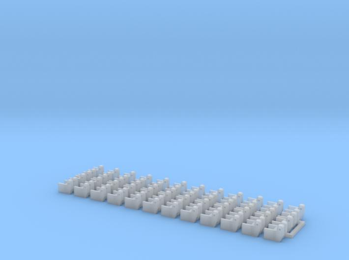 "Hinge Kits for 8"" Bar (24) 3d printed"