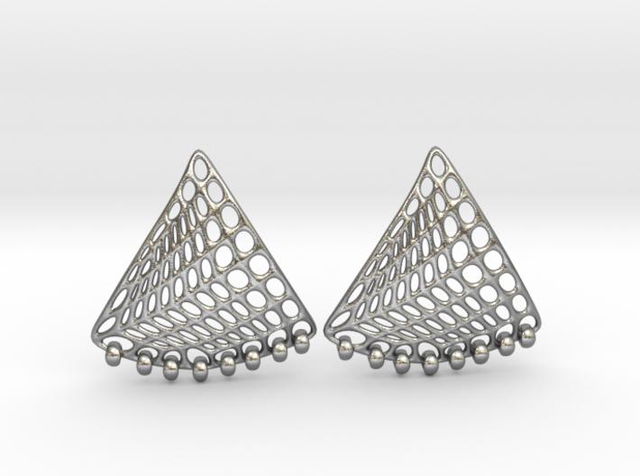 Baumann Swing Earrings 3d printed