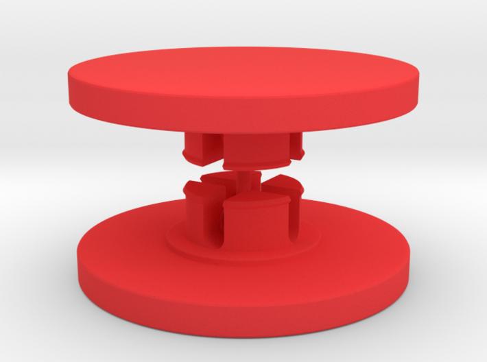 Customisable Fidget Spinner Caps for 608 Bearings 3d printed