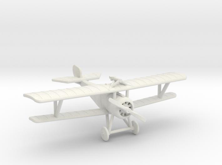 Nieuport 17 (Vickers+Lewis, various scales) 3d printed 1:144 Nieuport 17