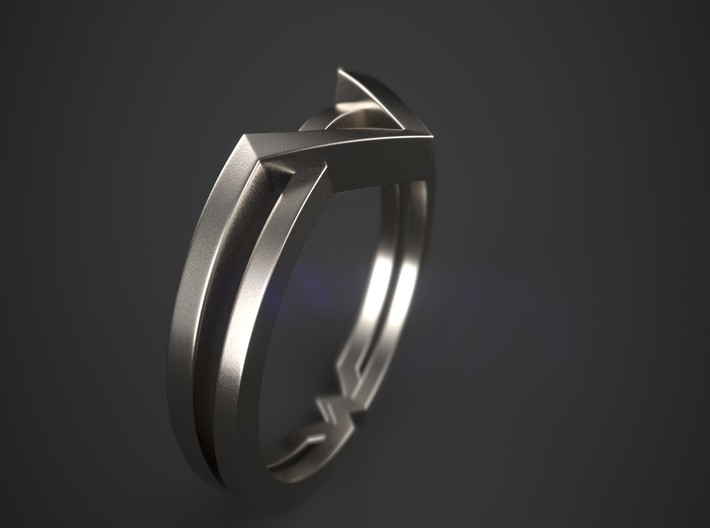 Wonder Woman Theme Ring Size from US 5 to US 8 3d printed Wonder Woman Theme Ring