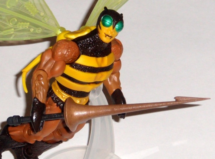 Buzzoff Lance 2013 3d printed Painted