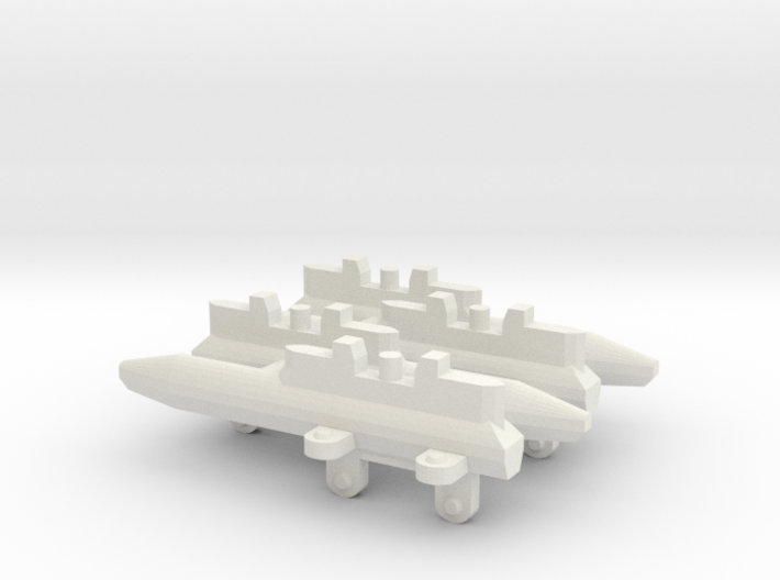 Triple Missile Pylon x4 3d printed