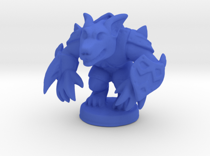 Werewolf Warlord (Chthonic Souls Edition) 3d printed
