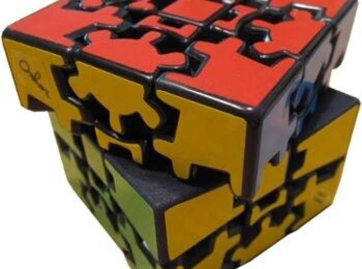 Edges for Anisotropic Cube 3d printed One direction without gears