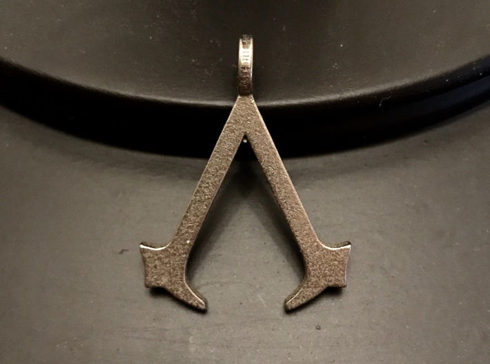 Assassin's Creed Keychain 3d printed