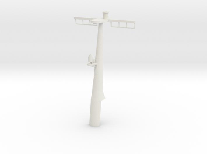 1/96 scale Hamilton Mast Rear - Pre-Framm 3d printed