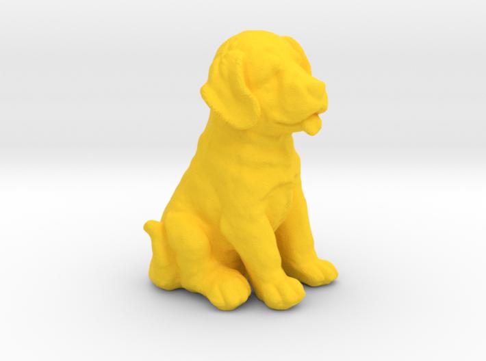 URNS Labrador Puppy 0.8mm 3d printed