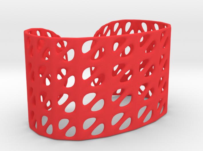 Bracelet, Generative Pattern, size M 3d printed
