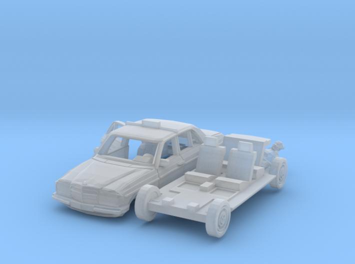 SET Taxi ride (TT 1:120) 3d printed