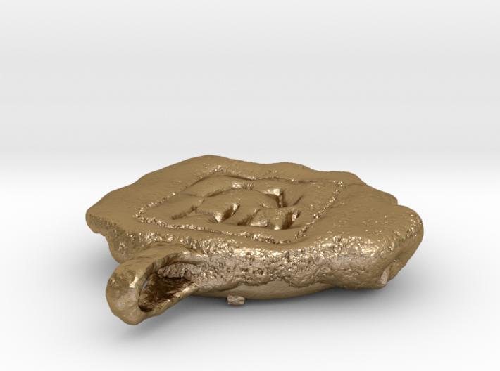 Antikythera Mechanism Amulet 3d printed