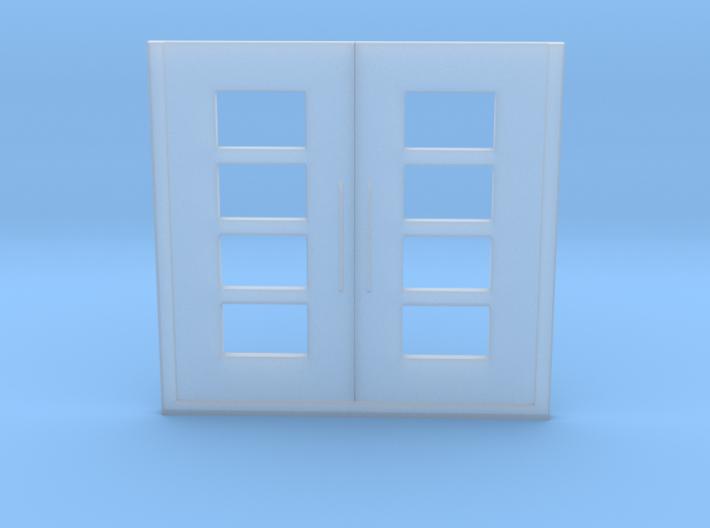 2 wing door 1/87 1:87 H0 3d printed