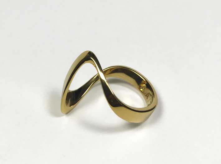 ZEPHYR PRECIOUS 18k gold plated 3d printed