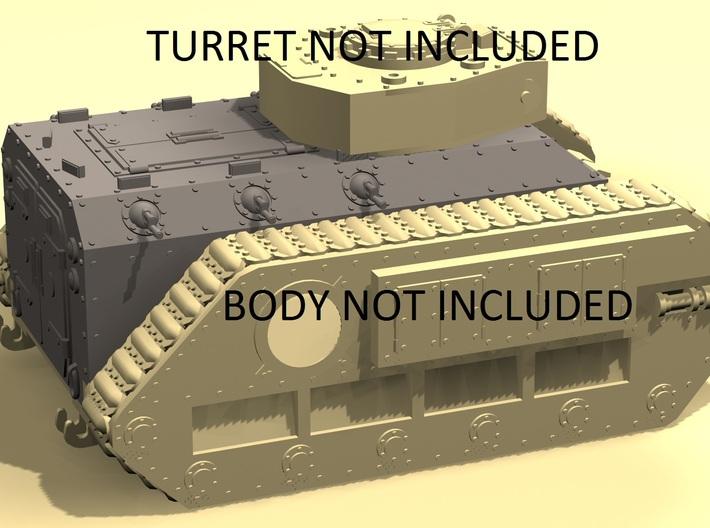 28mm Zerber APC troops carrier hull 3d printed