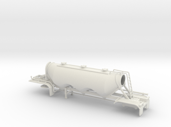 S-scale 1/64 Dry Bulk Trailer 11 - 1040 Superjet 3d printed