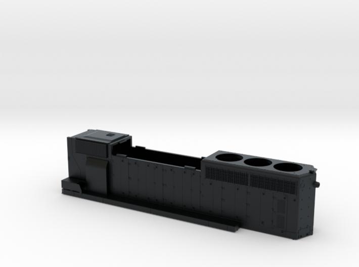 CN 53XX-5353 SD40-2W (no batten strip) Hood 1/87 3d printed