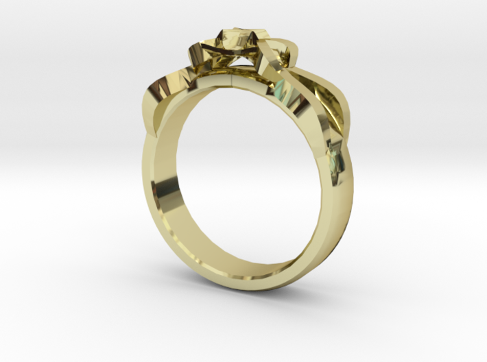 Designer Ring #1 3d printed