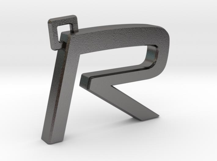 Volvo R Logo Keychain 3d printed