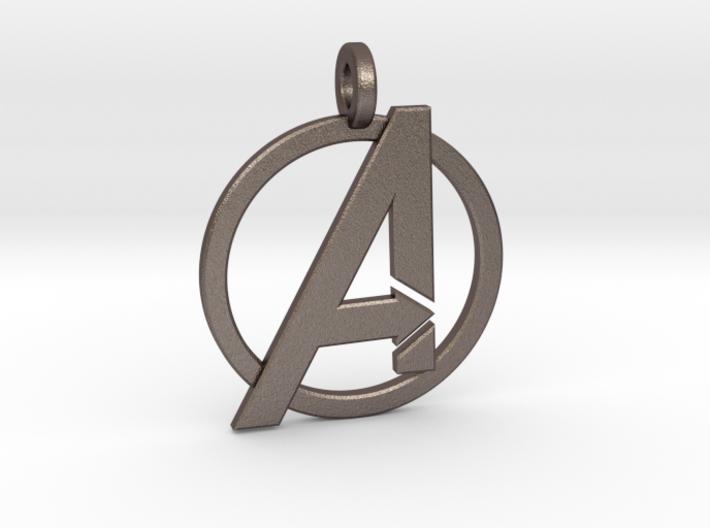 Avengers Keychain 3d printed