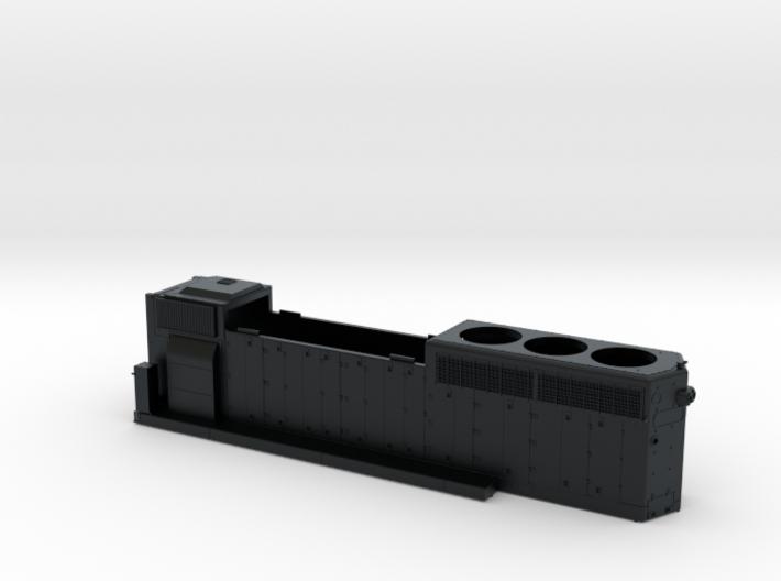 DTI406-421 GP40-2 HOOD 3d printed