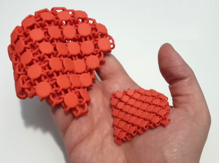 Disc Fabric 3d printed