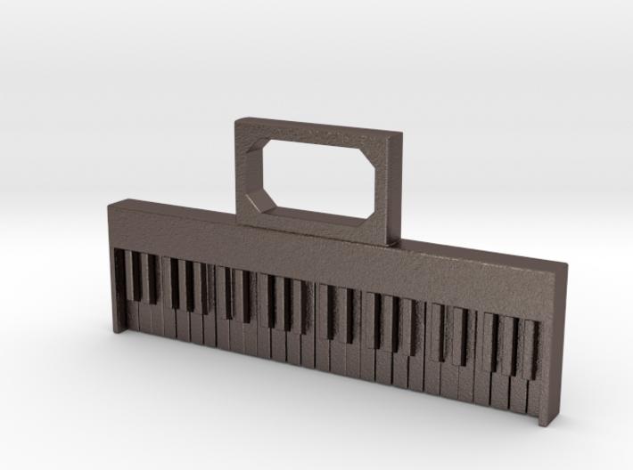 Keyboard pendant/keyfob 3d printed