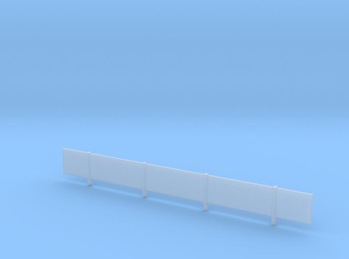20' K-Rail Fencing 3d printed