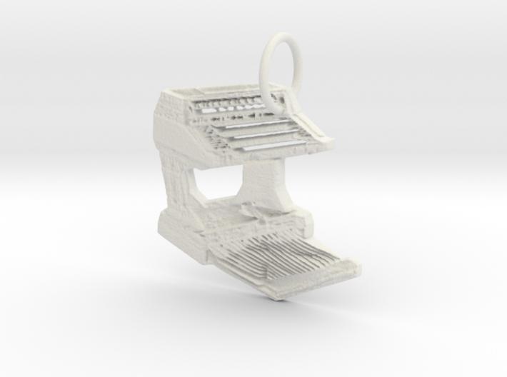 Wersi Galaxy Organ 3d printed