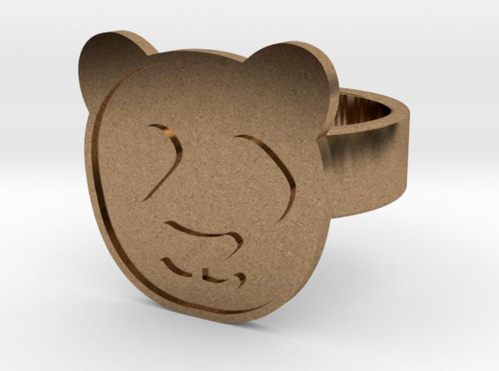 Panda Ring 3d printed