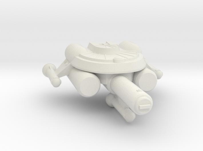 3788 Scale Seltorian Frigate (FF) MGL 3d printed