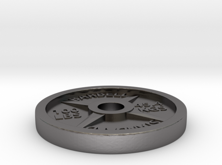 100LBS BARBELL Plate 3d printed