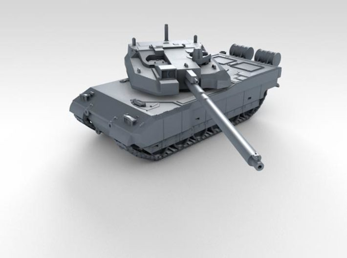 1/200 French Leclerc Main Battle Tank 3d printed 3d render showing product detail