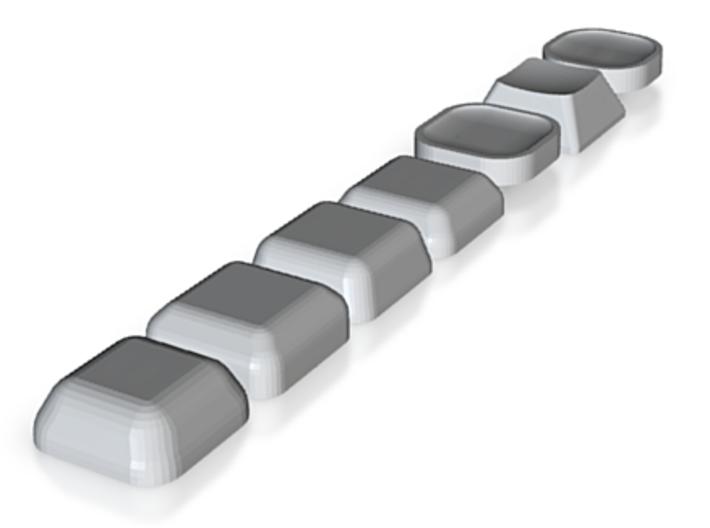 MX keycaps 3d printed