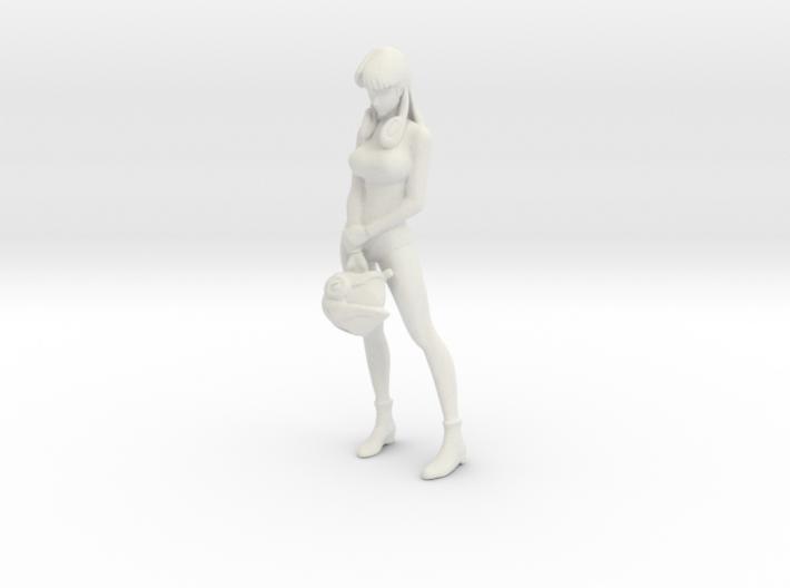 1/8 Misa Hayase in Hot Suit 3d printed