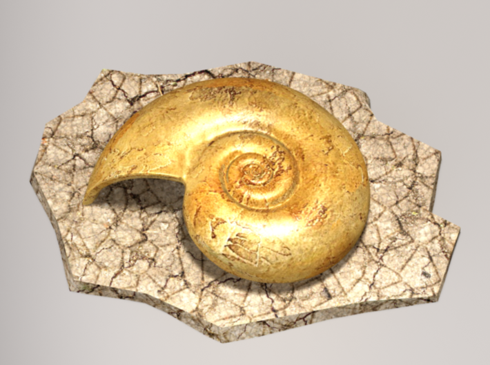 Helix fossil 3d printed Lord Helix Front