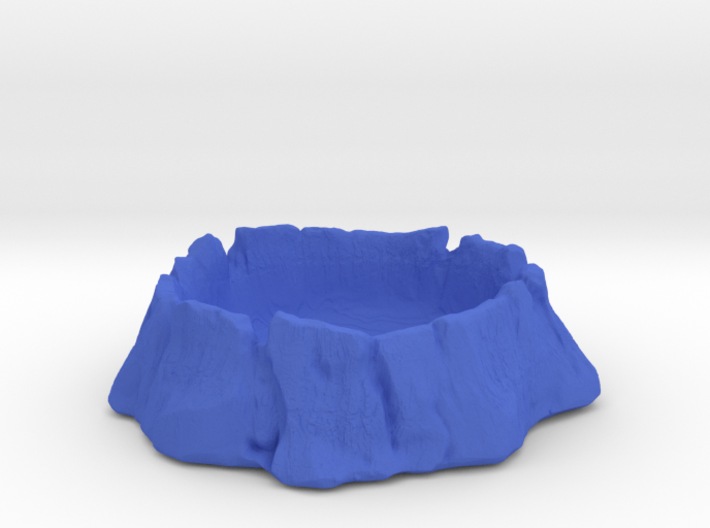 Old tree trunk 3d printed