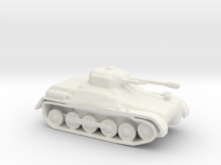 LightTank Infantry Support LTIS 3d printed