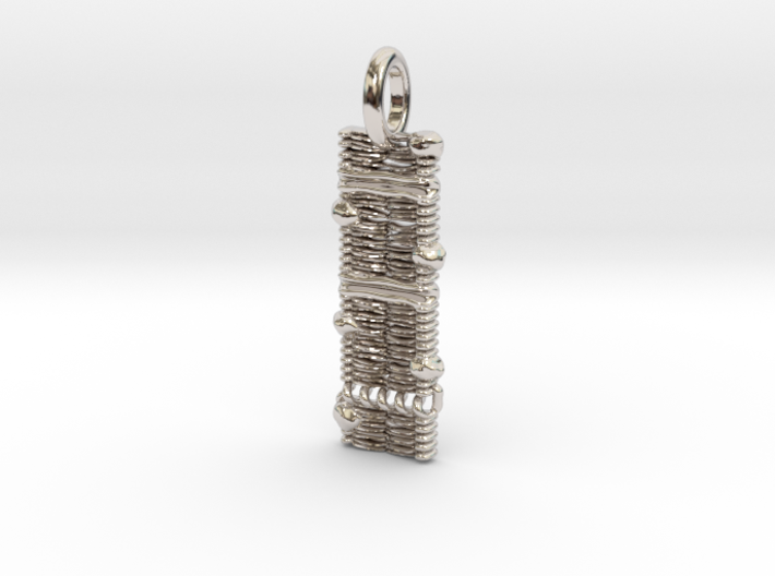 Cell Membrane Pendant - Science Jewelry 3d printed