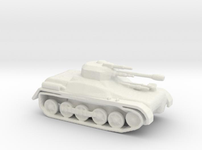 LTIAS Light Tank Infantry Assault Support 3d printed