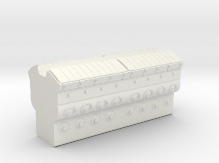 EMD 645 Block (O -1:48) 3d printed