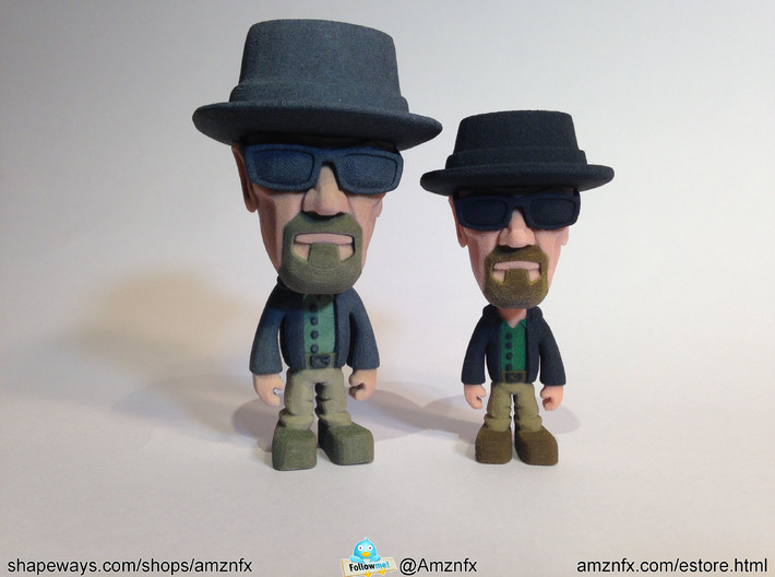 Bad Wally Medium Size 3d printed Size comparison with original Wally.. You get the small one when you purchase this