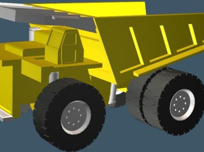 Caterpillar 797 Mining Dump Truck - Zscale 3d printed Color Render