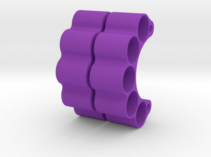 HOOLIGAN SLUG HANGERS (PAIR) TO SUIT DLUX KNUCKLES 3d printed