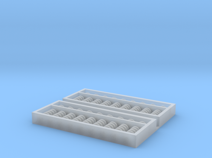 1:12 Functional Chinese Abacus (x2) 3d printed