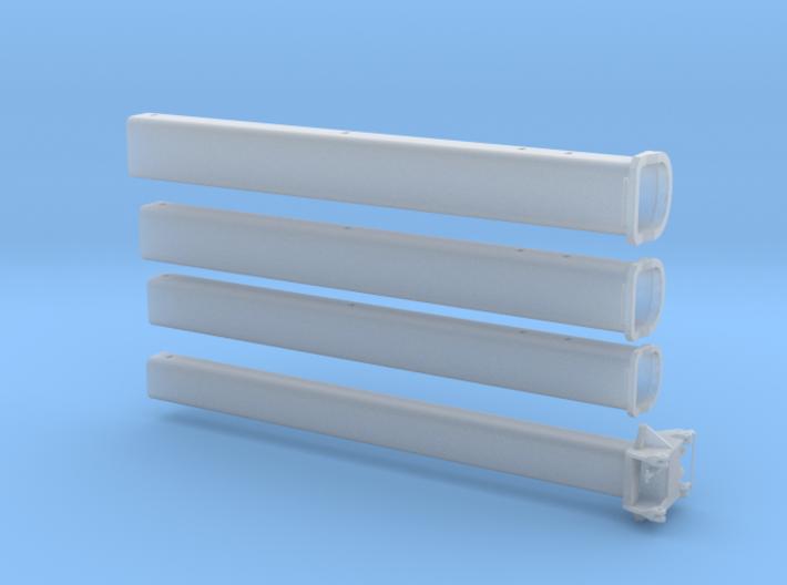AC 500 03: Mast für Mobilkran ähnlich AC500-2 3d printed