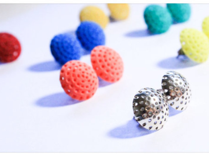 Ear Lollie Drops 3d printed Ear Lollie Drops in various materials and colours available.