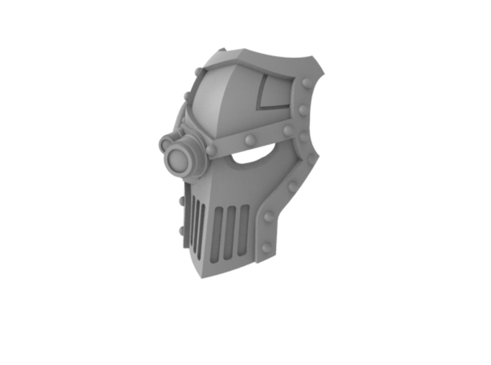 Iron Fists - Face Plate 3d printed