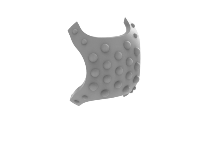 Iron Wolf - Knee Pad 3d printed