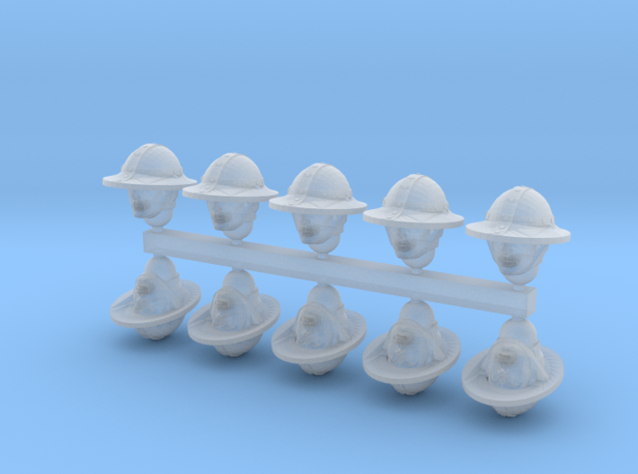 28mm Kettle Heads 3d printed